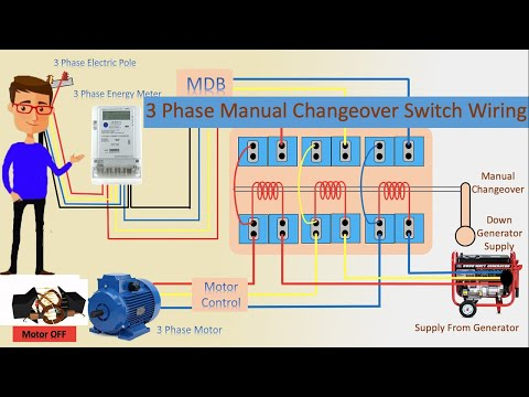 Manual Changeover Switch For Generator Wiring Diagram