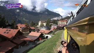 [CT Tour] 하늘기차여행 스위스 융프라우 # 2 / Running the sky train travel, Jungfrau, Switzerland