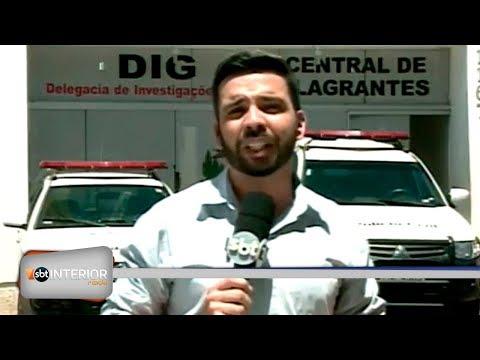Rapaz é baleado e vai pilotando a moto para o pronto socorro em Araçatuba