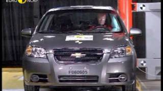 видео Краш - тест Chevrolet Aveo 2011