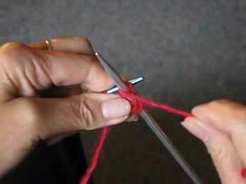 How To Knit The Purl Stitch Video Youtube