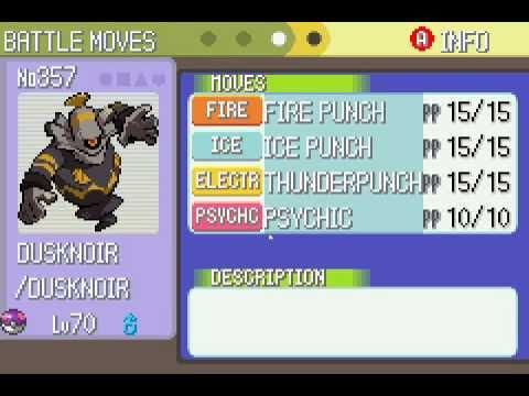 My Pokemon Light Platinum Team Youtube