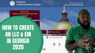 How to Create An LLC & EIN in Georgia 2020