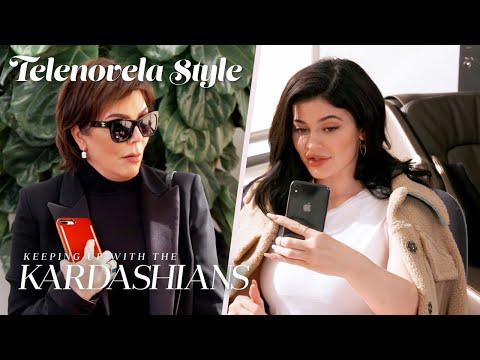 Kylie Kicks Kris Jenner Out of Her Office | KUWTK Telenovelas | E!