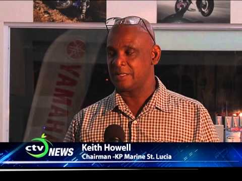 CTV NEWS - KP Marine St Lucia is Yamaha Licensed