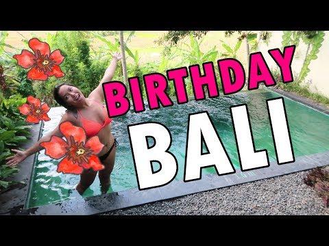 BIRTHDAY IN BALI! (June 6, 2018) - saytioco