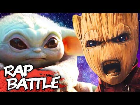 Baby Yoda Vs Baby Groot Rap Battle | #NerdOut