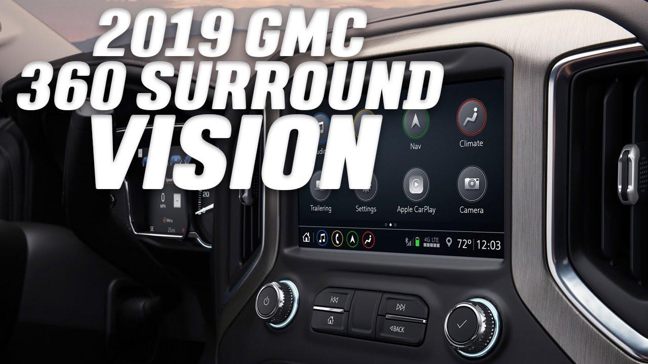 2019 Gmc Sierra 360 Surround Vision Camera System Youtube