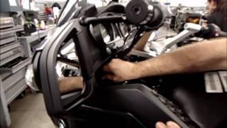 Макс гаража R1200RT панелі тіла видалення і установки