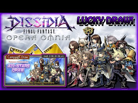 Dissidia Final Fantasy Opera Omnia ~ LUCKY ALL-STARS DRAW!