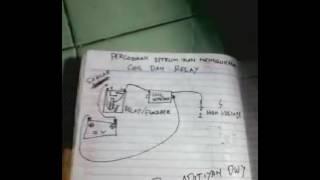 Setrum ikan coil dan relay