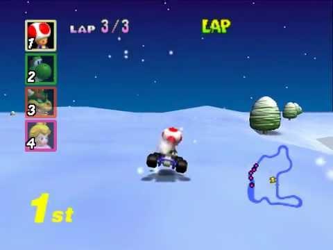 Mario Kart 64 TAS Star Cup Test Run Old Updated Run