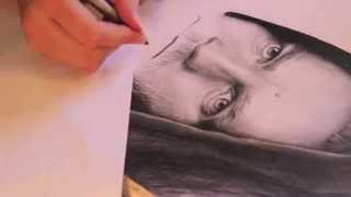 Speed drawing Obi-Wan Kenobi - Anette Schia Kaasa