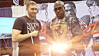 Interviewing KALI MUSCLE then THIS HAPPENED l Brad Castleberry, Mac Trucc