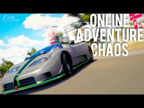 ONLINE ADVENTURE CHAOS mit aTTaX Johnson  - FORZA HORIZON 3 | Lets Play