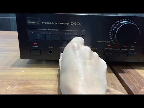 【夢響音響工作室】 絕版日製超經典!!SANSUI C-2102立體聲前級擴大機 一元起標!!