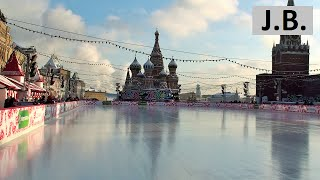 Skating rink on the Red Square, MOSCOW(January 2011., 2015-08-08T03:38:17.000Z)