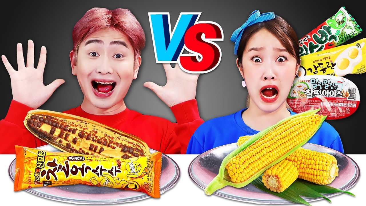 🍦Mystery Ice cream Challenge Mukbang🍦아이스크림 챌린지 먹방 JiniYum 지니얌