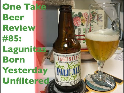 Thumbnail image for 'Craft Beer Preview: Lagunitas Unfiltered Born Yesterday'