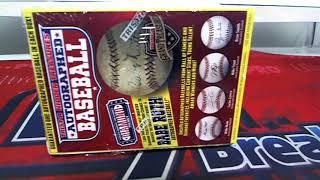 2017 Tristar Hidden Treasures Series 9 Auto Baseball Box ID FEBTRISTAR504
