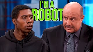 Dr Phil vs Cyborg Son From The Future | React Couch