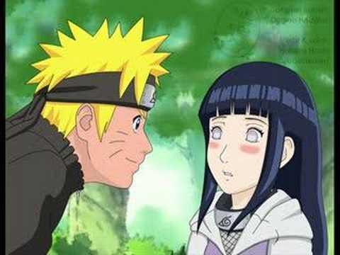 Hinata has a crush on Naruto