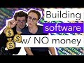 BUILD A SOFTWARE COMPANY w/ NO MONEY | daily life of remote software developers