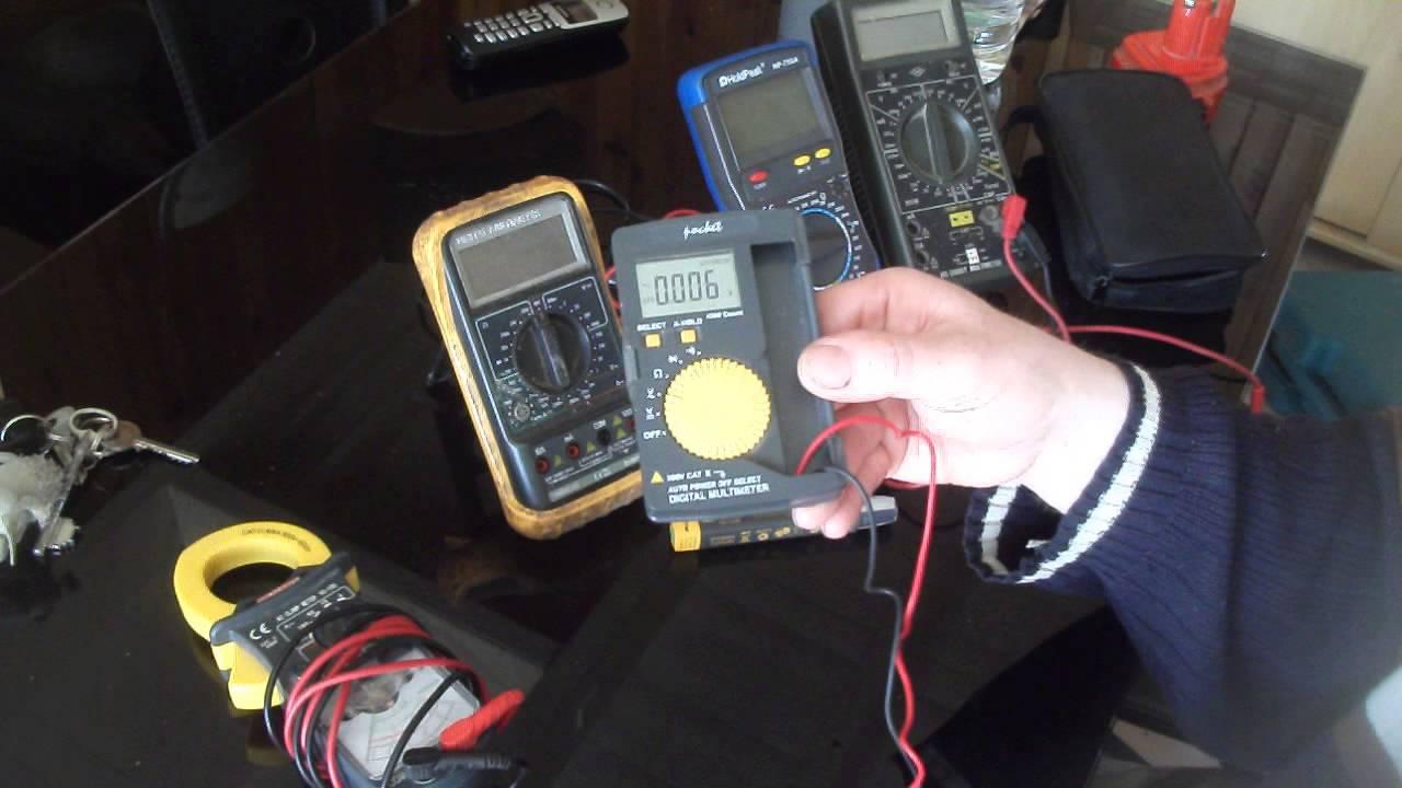 Utiliser un multim tre doovi - Comment utiliser un multimetre ...