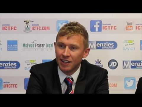 CaleyJagsTV : Richie Foran's First Managerial Press Conference : 29/06/16