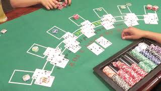 Monthly Blackjack night 3162019 We did a total of 3 games 1 of 3