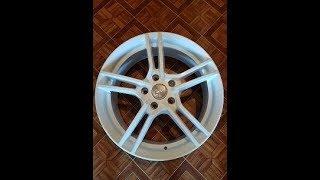 Белые диски на Lancer x 17дюймов