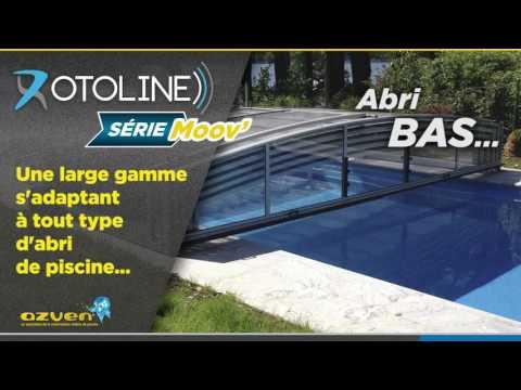 Motorisation Abris de piscine Rotoline
