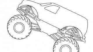 Grave Digger Monster Truck Coloring Pages AZ Coloring Pages