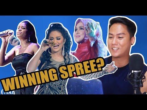 Senarai Pemenang Artis Terbaik (Wanita) 2001 -  2018 | Anugerah Planet Muzik (APM) | REACTION