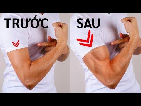 6 bài tập đơn giản để có bắp tay vạm vỡ mà không cần đến phòng gym