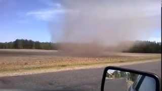 Торнадо в Октябрьском(Беларусь)Смотреть всем