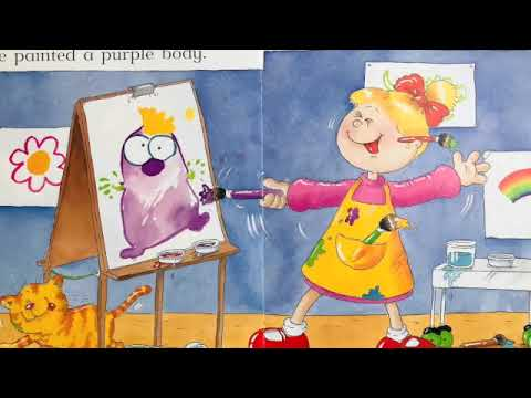 Nelly paints a monster   Read aloud   Children's stories - YouTube