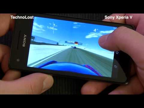 Sony Xperia V - Gaming Focus [ENG] by TechnoLost
