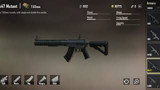 PUBG Armory - PUBG Weapon Guide Power, Recoil, Range, Firing Speed & Capacity With Bullet Type