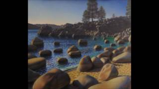 "The Evolution of a Painting: ""Secret Cove"" (Oil on Panel. 36x42 in. By Adam Wexelblatt)"