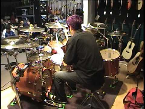 Nick Campbell Drum Clinic @ Fuller's Music in Newbern, NC