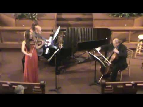 Salut DAmour for Trio  Elgar: Kristine Papillon, Violin, Robert Lynn, Cello, Gregory Otis, Piano