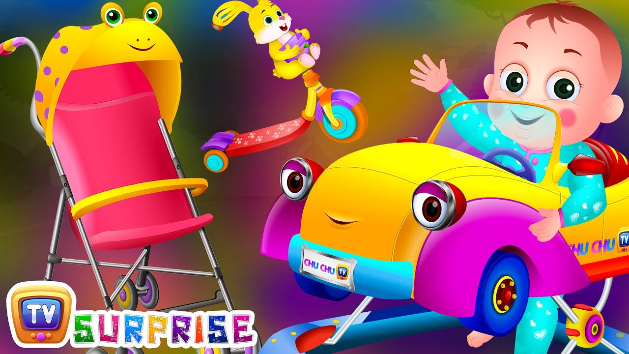Surprise Eggs Toys BABY Vehicles for Kids
