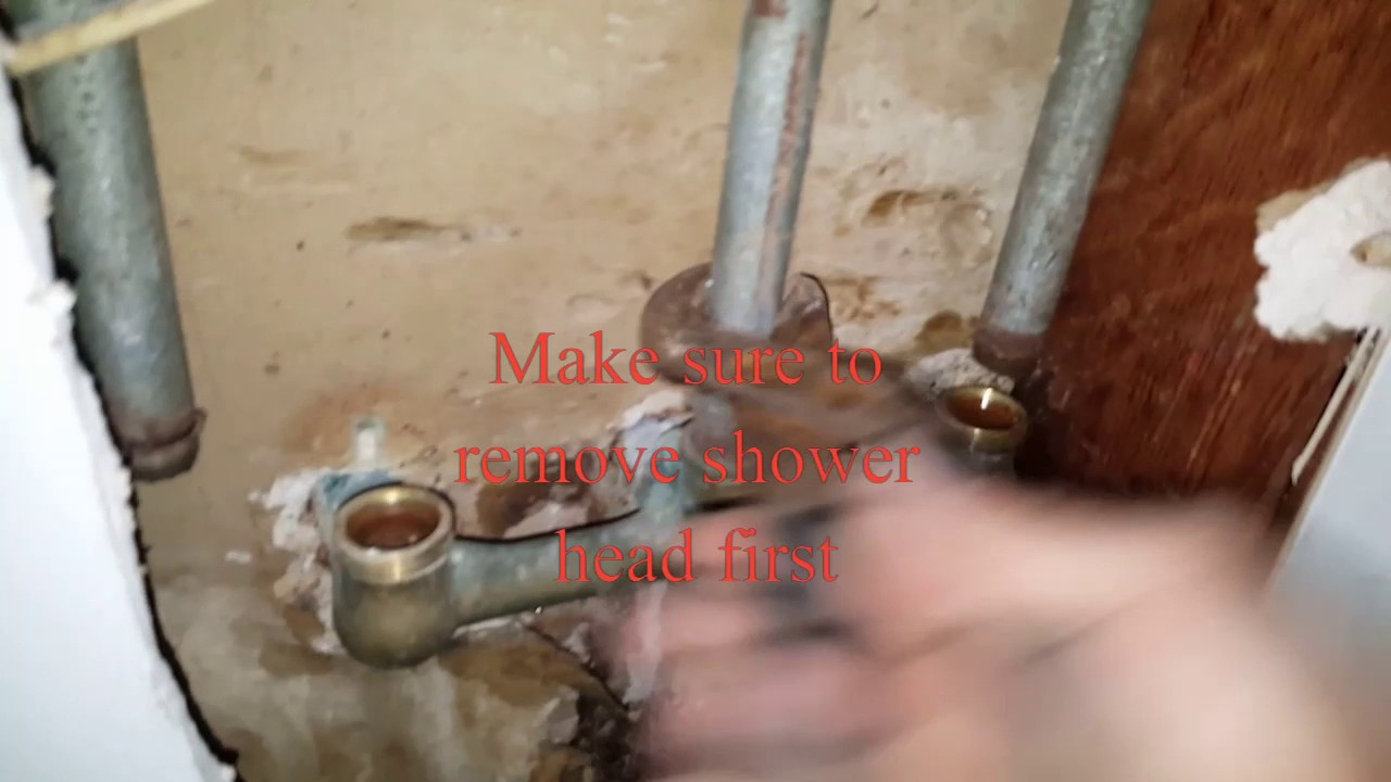 Price Pfister Tub/Shower 3 handle valve replacement. - YouTube