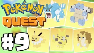 *WORLD RECORD* Evolution Spree! - Pokemon Quest Part 9 (Switch, IOS, Android)
