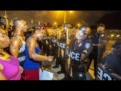 Live stream Black Lives Matter protesters St Louis/North Carolina 9-20-16