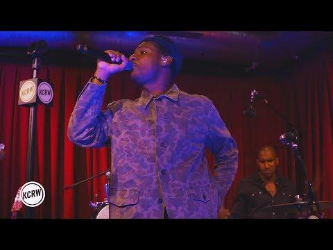 "Leon Bridges performing ""Bad Bad News"" Live at KCRW's Apogee Sessions"