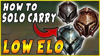 All You Need STAŔTER   How to Consistently SOLO CARRY Low Elo