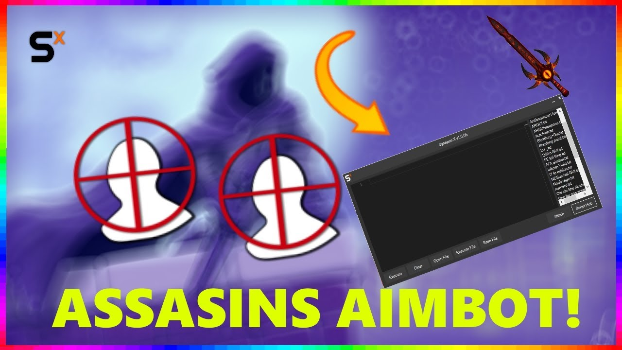 Roblox Assassin Hack Assassin Aimbot Script 2020 Youtube