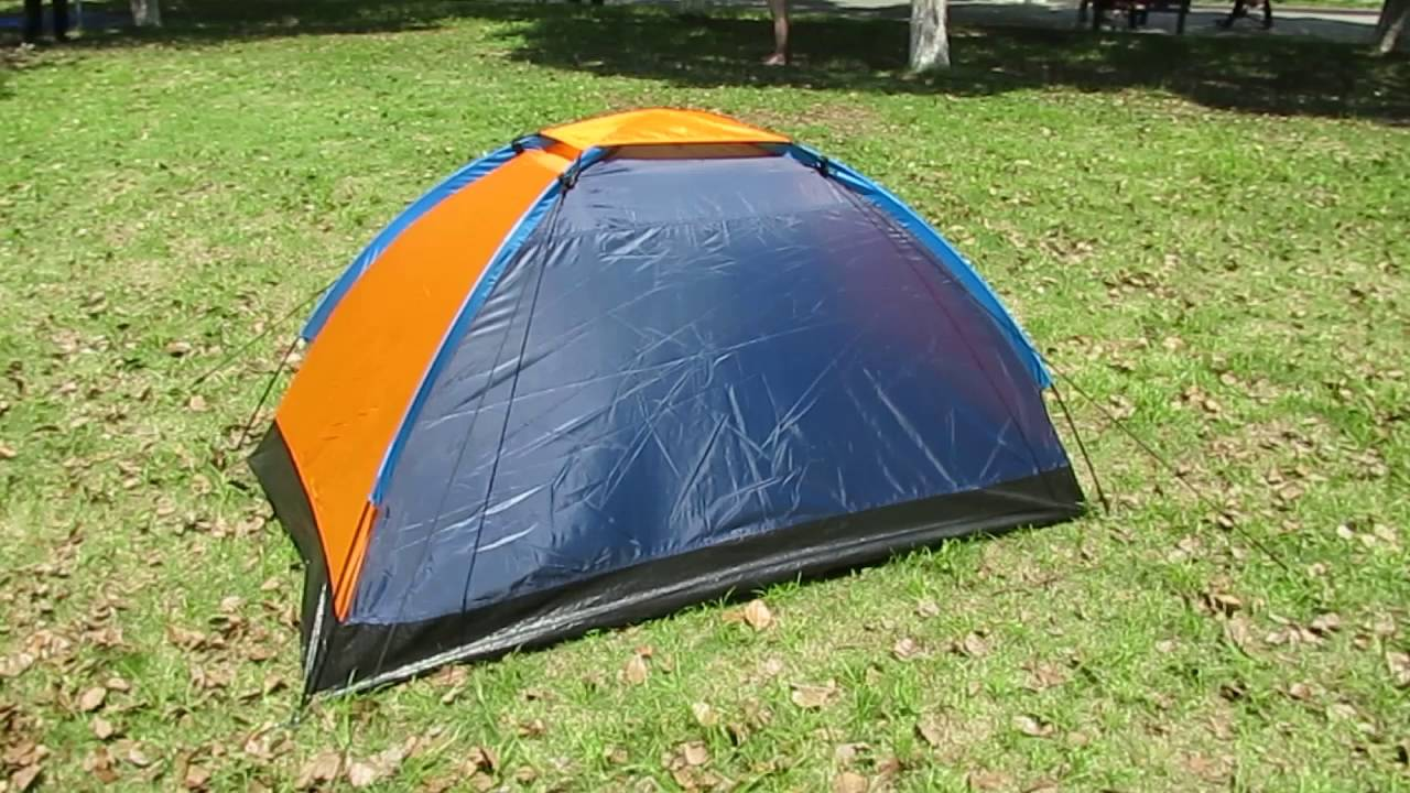 2 Man Single Layer Dome C&ing Tent Festival Tent Small Tent & 2 Man Single Layer Dome Camping Tent Festival Tent Small Tent ...